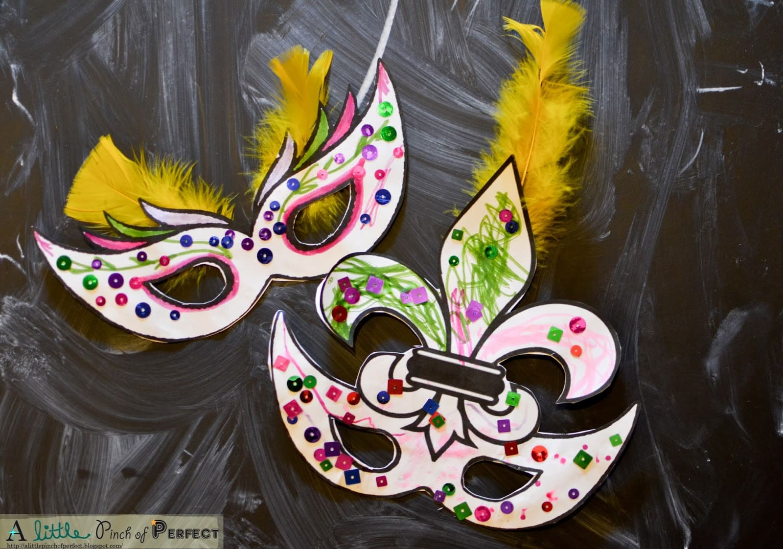 Mardi gras masks kids activity free printable with 2 masks for Mardi gras masks crafts