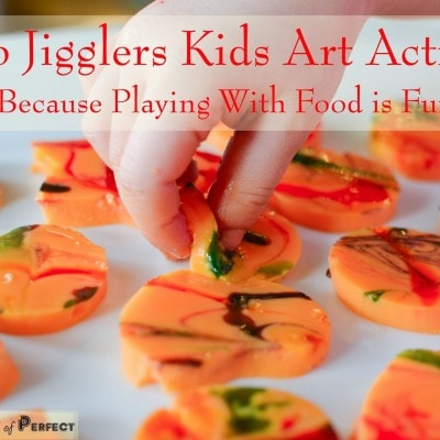 Jello Jigglers Kids Art Activity