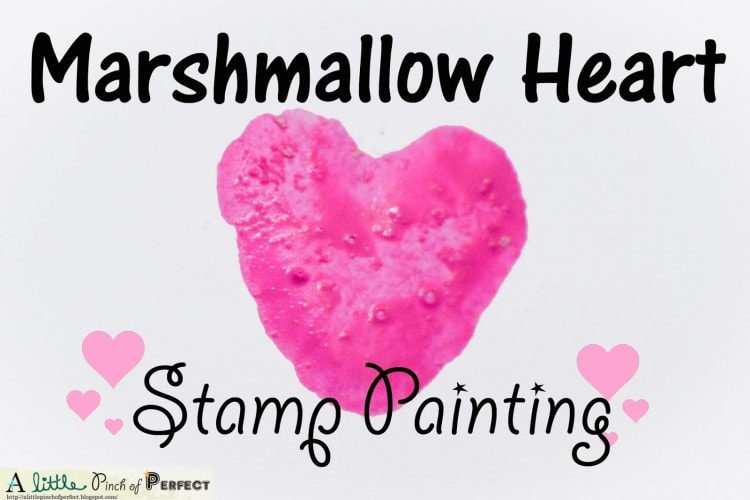 Marshmallow Heart Stamps (Mallow Stamps)