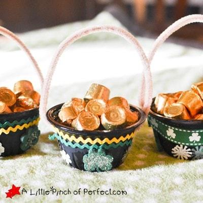 Pot of Gold St. Patrick's Day Kids Craft