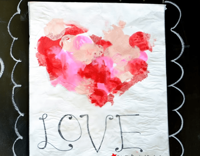 Valentines Painting with Marshmallows: A Sweet Craft for Kids