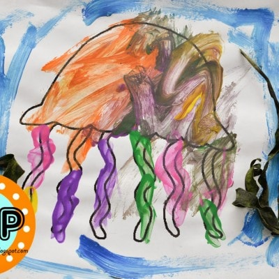 Ocean Animals Free Printable (includes 8 animals) & How To Make Seaweed