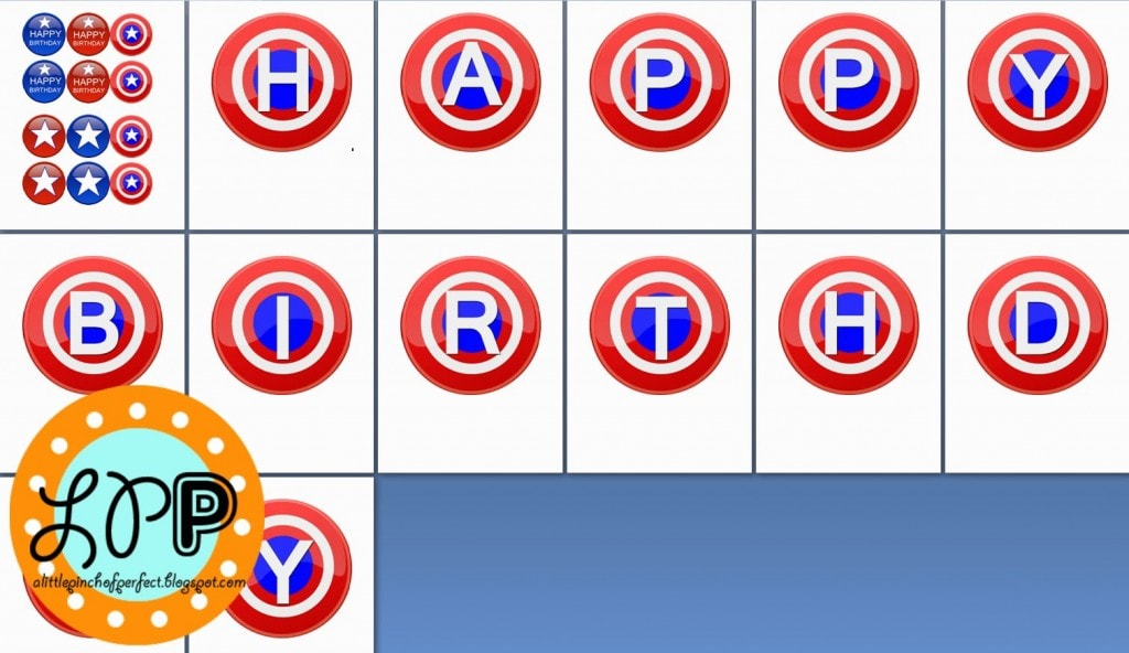 picture about Captain America Printable referred to as Captain The united states Totally free Birthday Printable -