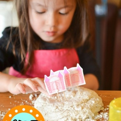 Play Dough Sand Kids Activity