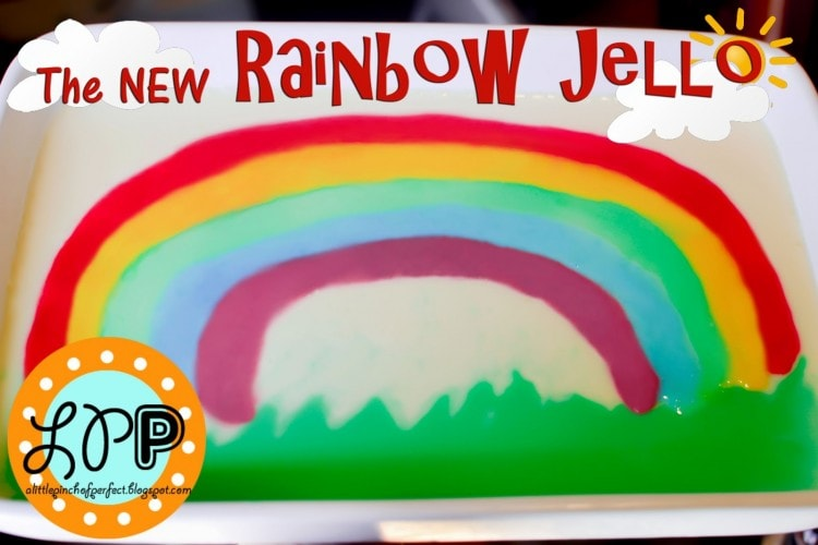 The NEW Rainbow Jello with an ARCH