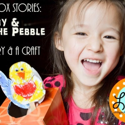 The Bunny & The Pebble (an Easter Story, a Kids craft, & a Free printable)