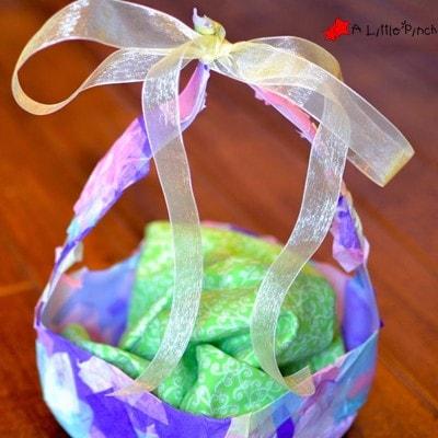 Milk Carton Easter Basket Kids Craft