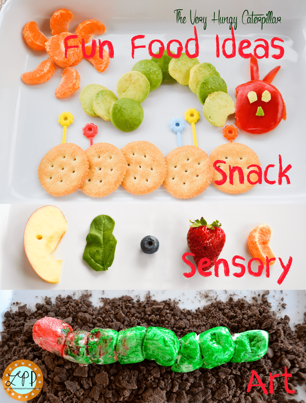 the very hungry caterpillar fun food ideas