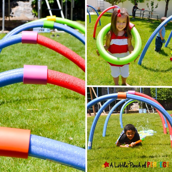 DIY Pool Noodle Connectors for Fun Outdoor Play this Summer