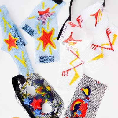 Create Your Own Superhero a No Sew Kid Craft