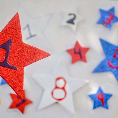 Star Search Number Learning Game
