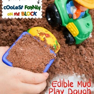 Edible Mud Play Dough Recipe Sensory Play