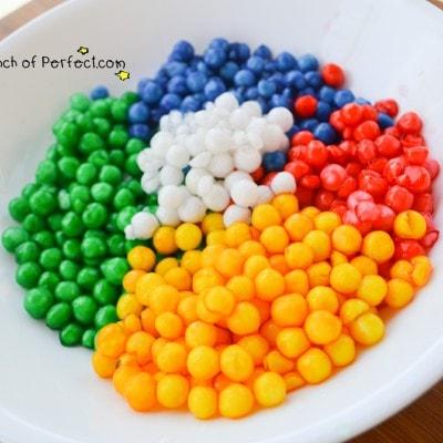 Edible Water Beads Sensory Play
