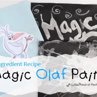 Magic Olaf Paint Recipe for Kids