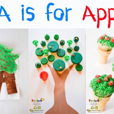 Letter of the Week A-Z Series: A is for Apple