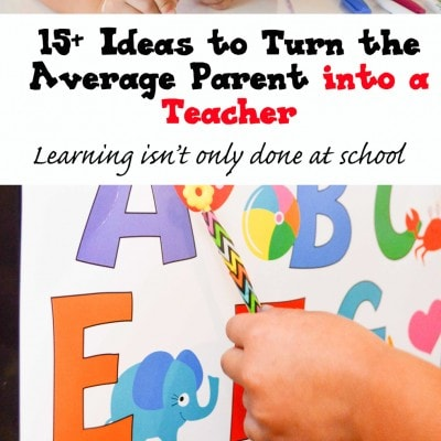15+ Simple Ideas to Teach Kids at Home & Free Printable (Love to Learn Linky #6)