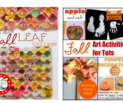 Fall Art Activities for Tots (Love to Learn Linky #11)