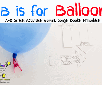 Letter of the Week A-Z Series: B is for Balloon & 7 Letter Learning Activities (Love to Learn Linky #9)