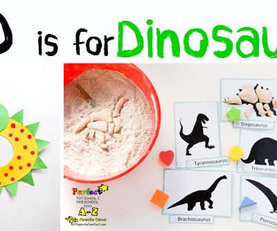 Letter of the Week A-Z Series: D is for Dinosaur