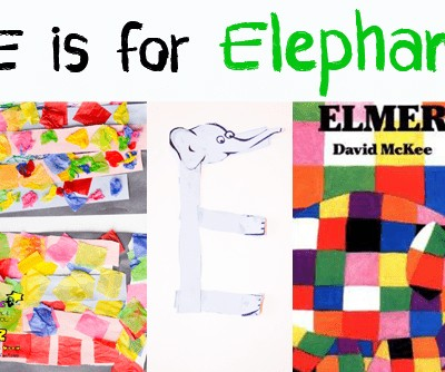 Letter of the Week A-Z Series: E is for Elephant