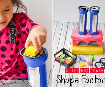 Build & Learn Shape Factory