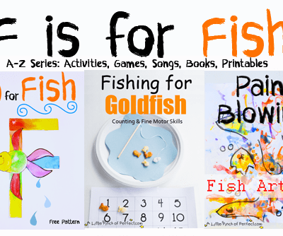 Letter of the Week A-Z series: F is for Fish