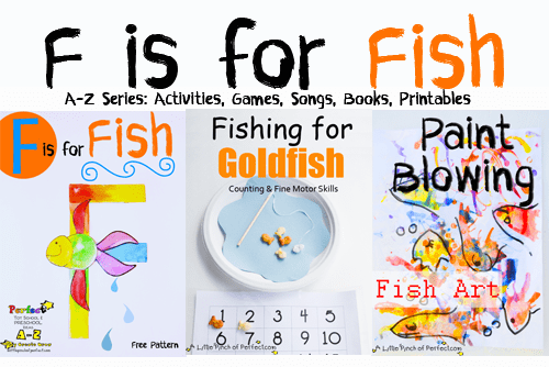 Letter of the week a z series f is for fish for Fish songs for preschoolers