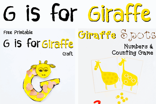 Letter of the week a z series g is for giraffe its all about the letter g today we have giraffe games and activities that will make you giggle at the end of this post the click chat link up party spiritdancerdesigns Gallery