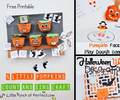 Halloween Preschool Craft & Learn Ideas & Free Printables