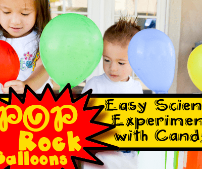 Pop Rock Balloons: Easy Science Experiment with Candy