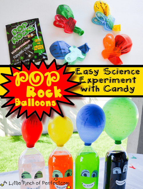 How does Pop Rocks candy work?
