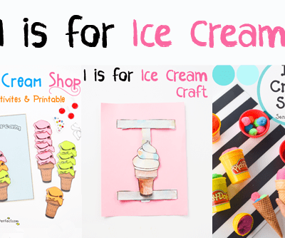 Letter of the Week A-Z Series: I is for Ice Cream