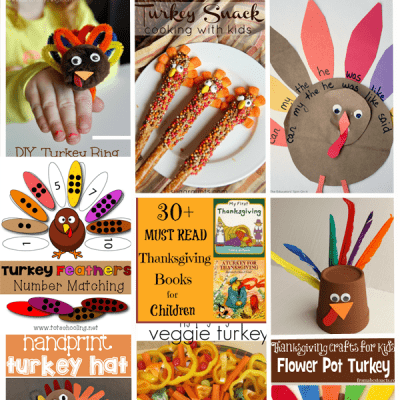 The Ultimate List of Thanksgiving Turkey Ideas for Kids  (Love to Learn Linky #17)