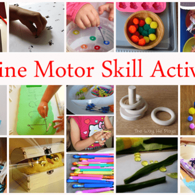 20 Fine Motor Skill Activities (Love to Learn Linky #19)