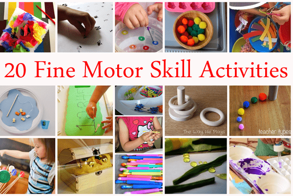 20 fine motor skill activities love to learn linky 19 for Four year old fine motor skills