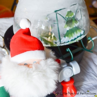 Help Santa with his Sleigh Christmas Science Activity for Kids