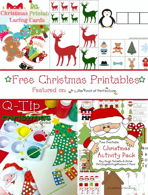 free printables for christmas