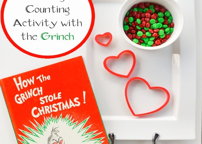 How the Grinch Stole Christmas Math Activity (Estimation, Counting, December)