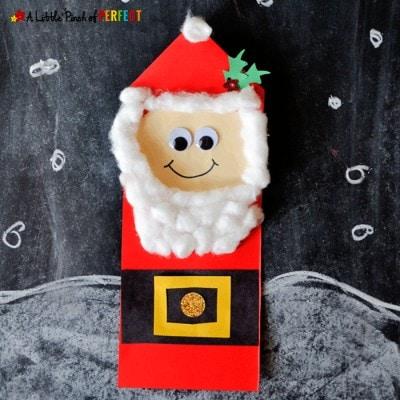 Christmas Santa Craft for Kids