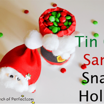 Santa Craft: Snack Holder & Candy Dish