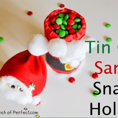 Santa Craft: Snack Holder & Candy Dish