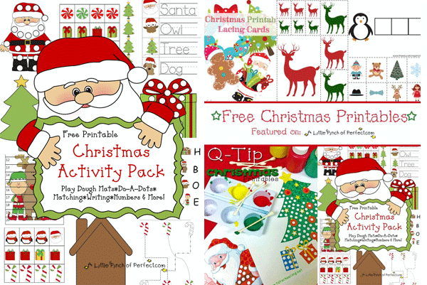 Free Preschool Christmas Craft Printables