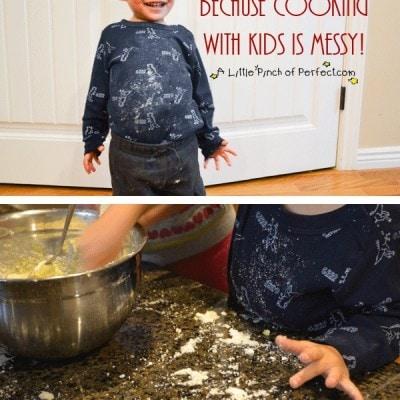 Rock-It Oil Review: Because Cooking with Kids is Messy ($2,000 Kitchen Upgrade Giveaway)