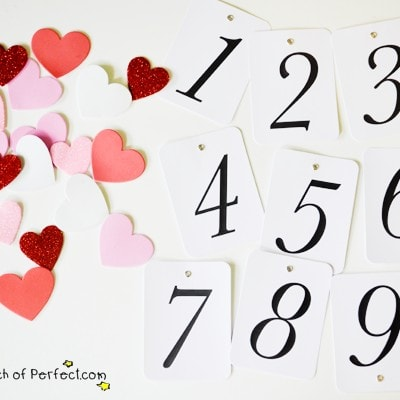 Valentine's Heart Hide and Seek Game