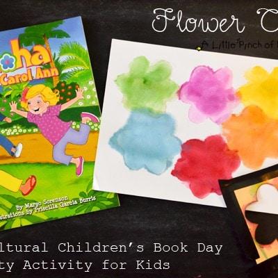 Flower Craft + Multicultural Children's Book Day