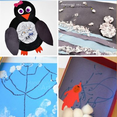 Winter Themed Crafts & Activities for Preschoolers