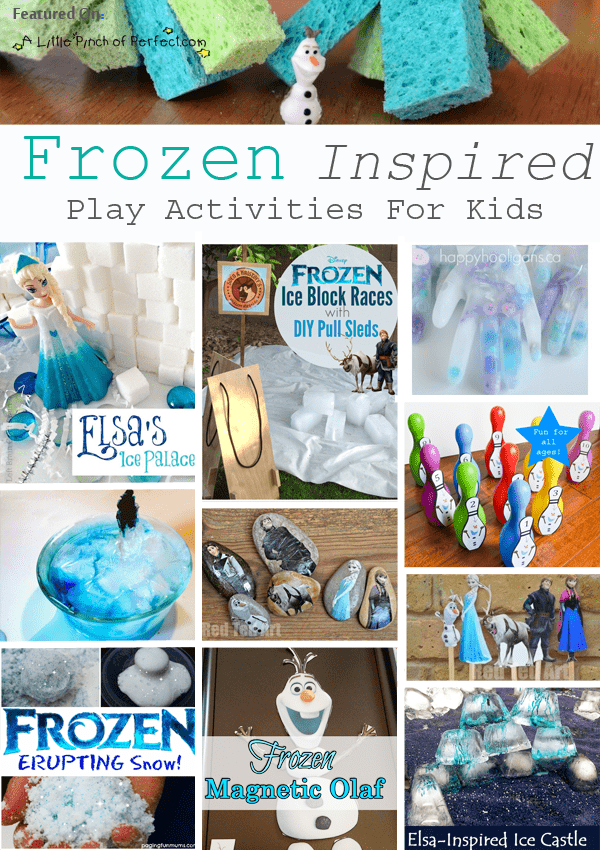 80 Frozen Inspired Winter Crafts And Activities For Kids Love To