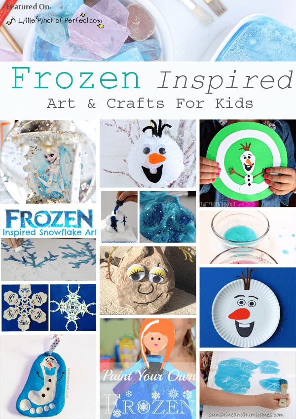 80 Frozen Inspired Winter Crafts And Activities For Kids