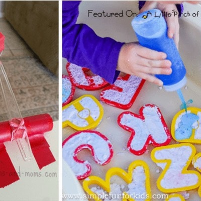 Easy Play Ideas for Kids with Things Found in Your Kitchen (Love to Learn Linky #26)