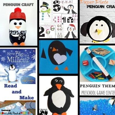 Penguin Crafts & Activities for Kids